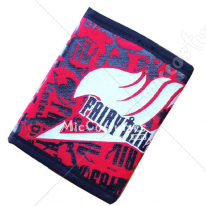 Fairy Tail Bifold Canvas Wallet Red