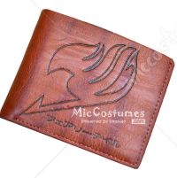 Fairy Tail Bifold Wallet Brown