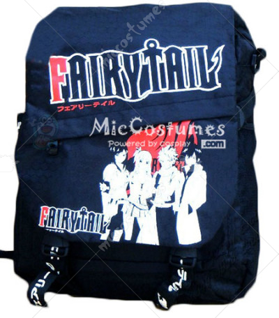 Fairy Tail Black Backpack Nylon