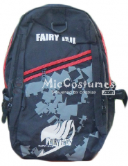 Fairy Tail Black School Bag