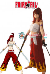 Fairy Tail Erza Scarlet Bandage Cosplay Costume