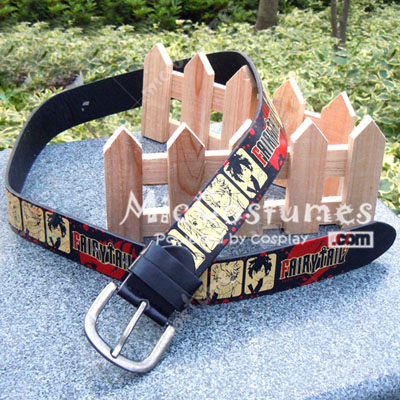 Fairy Tail Leather Belt