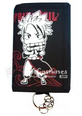 Fairy Tail Natsu Dragnee Trifold Long Canvas Wallet