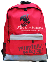Fairy Tail Red School Bag Nylon