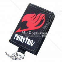 Fairy Tail Trifold Long Canvas Wallet