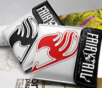 Fairy Tail Bifold Snap Fastener Wallet