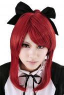 Fairy Tail Erza Scarlet Cosplay Wig with Ponytail