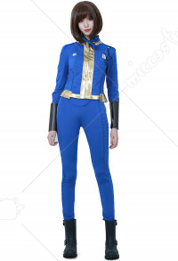[Free US Economy Shipping] Fallout 4 Female Sole Survivor Nora Cosplay Costume
