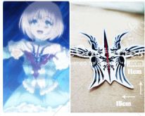 Fate Prototype Saber Cosplay Tatoo Sticker