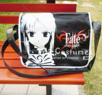 Fate Stay Night Saber Black Shoulder Bag