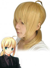 Fate Stay Night Saber Cosplay Wig