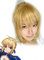 Fate Stay Night Saber Fight Cosplay Wig