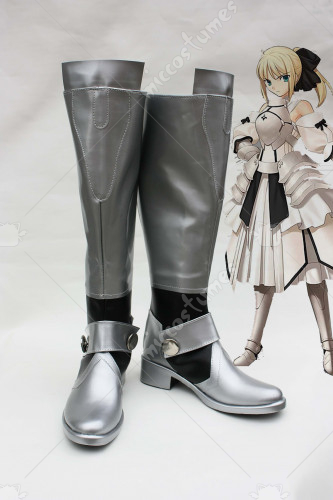 Fate Unlimited Codes Saber Lily Cosplay Boots
