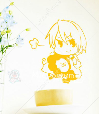 Fate Zero Gilgamesh Yellow Wall Sticker