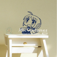 Fate Zero Saber Dark Blue Wall Sticker