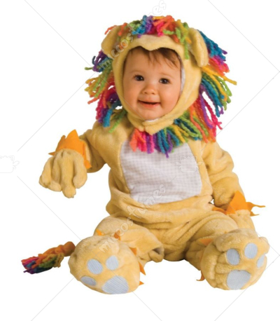Fearless Lil Lion Infant Costume