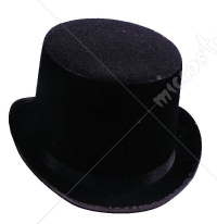 Felt Black Top Hat