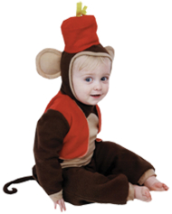 Fez Monkey Infant Costume