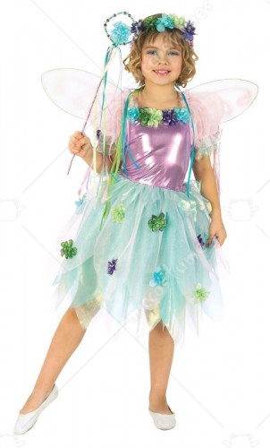 Fiber Optic Garden Fairy Toddler Costume