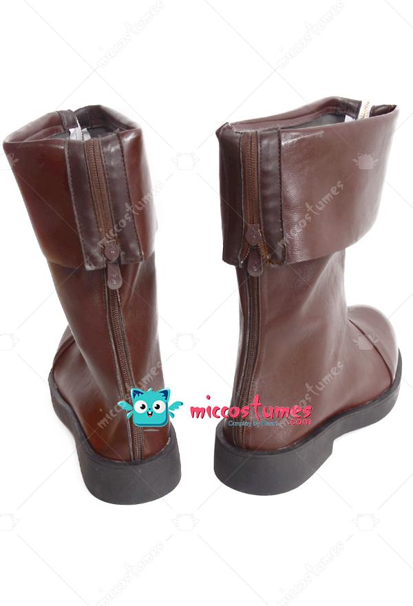 final fantasy vii cloud strife cosplay shoes boots for sale. Black Bedroom Furniture Sets. Home Design Ideas