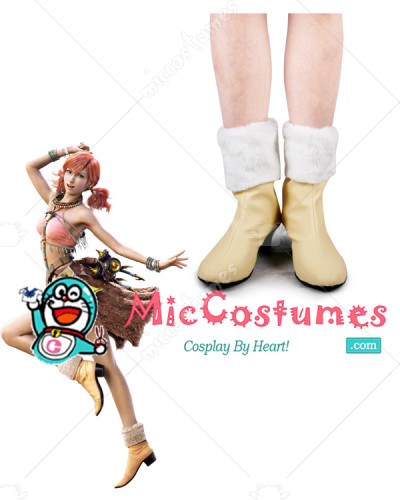 Final Fantasy 13 Dia Vanille Cosplay Shoes Boots
