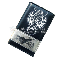 Final Fantasy Bifold Long Wallet Black