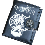 Final Fantasy Bifold Wallet Black