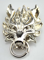 Final Fantasy Cloud Strife Wolf Head Badge