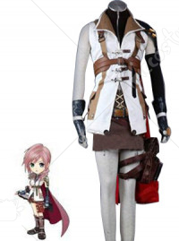 Final Fantasy Lightning Kids Cosplay Costume