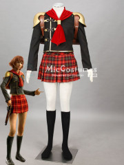 Final Fantasy Type 0 Cater Cosplay Costume