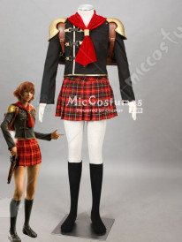 Final Fantasy Type 0 Cater Cosplay Costume Women M