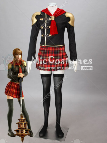 Final Fantasy Type 0 Clinque Cosplay Costume