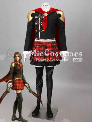 Final Fantasy Type 0 Rem Tokimiya Cosplay Costume