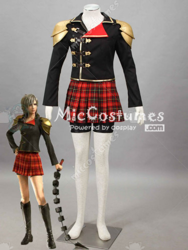 Final Fantasy Type 0 Seven Cosplay Costume
