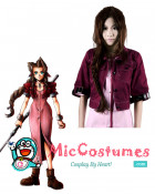 Final Fantasy VII 100cm Aerith Gainsborough Cosplay Wig