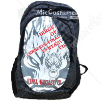 Final Fantasy Wolfs Head Black Backpack