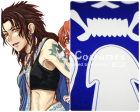 Final Fantasy XIII Oerba Yun Fang Cosplay Tattoo Sticker