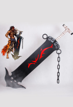 Final Fantasy X Jecht Cosplay Sword