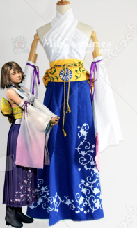 Final Fantasy X Yuna Cosplay Costume