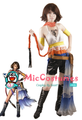 Final Fantasy Xii Yuna Cosplay Costume
