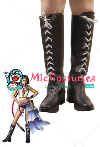Final Fantasy Yuna Cosplay Shoes Boots