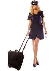 First Class Flight Attendant Costume