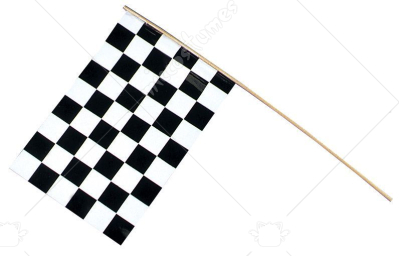 Flag Plstc Checker 1 Flag