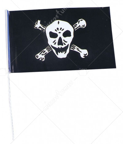 Flag Plstc Pirate 1 Flag