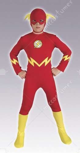 Justice League DC Comics  Flash Child Costume