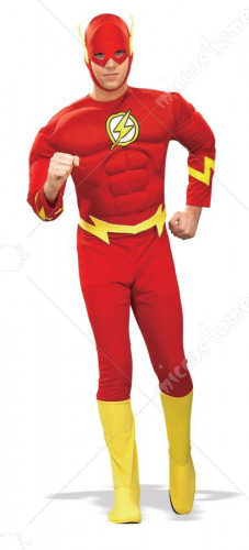 Flash Muscle Adult Costume