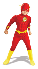 Flash Deluxe Muscle Child Costume