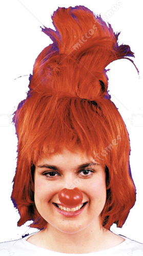 Flip Top Clown Wig