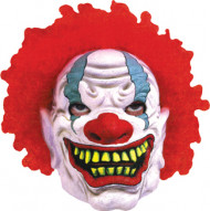 Foamy Clown Mask