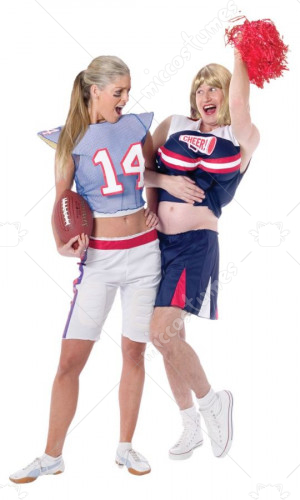 Football Player Girl Costume